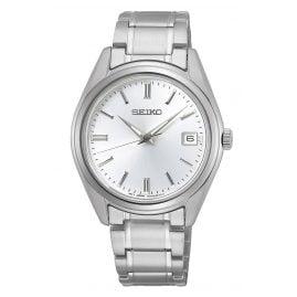 Seiko SUR315P1 Damen-Armbanduhr mit Saphirglas und Stahlband
