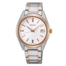 Seiko SUR322P1 Ladies' Watch with Sapphire Crystal Two-Colour