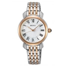 Seiko SUR628P1 Ladies' Quartz Watch Two-Colour