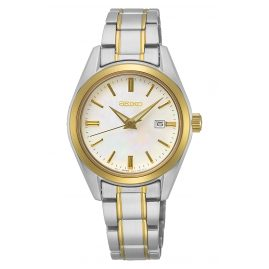 Seiko SUR636P1 Women's Watch with Sapphire Crystal Two-Colour