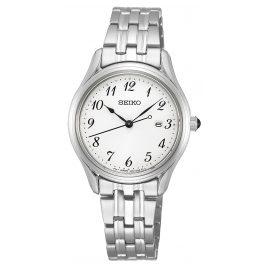 Seiko SUR643P1 Ladies' Wristwatch Stainless Steel