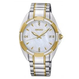 Seiko SKK886P1 Ladies' Watch Two-Colour with Sapphire Crystal