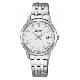 Seiko SUR405P1 Women's Watch Quartz Silver Tone
