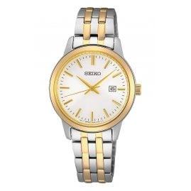 Seiko SUR410P1 Damen-Armbanduhr zweifarbig