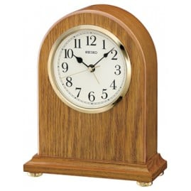 Seiko QXE031B Table Clock with Alarm