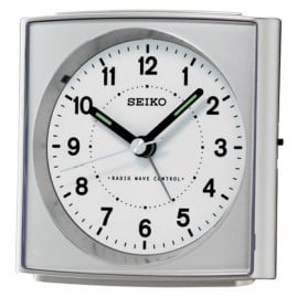Seiko QHR022S Radio-Controlled Alarm Clock