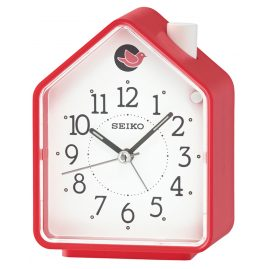 Seiko QHP002R Alarm Clock with Bird Sounds