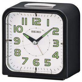 Seiko QHK025J Alarm Clock with Bell Alarm