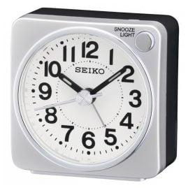 Seiko QHE118S Wecker Silber