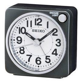 Seiko QHE118K Alarm Clock Black