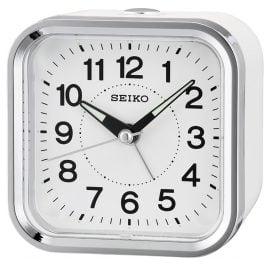 Seiko QHE130W Wecker mit Leisegang