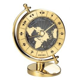 Seiko QHG106G Table Clock Globe