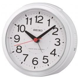 Seiko QHR026W Radio-Controlled Alarm Clock White