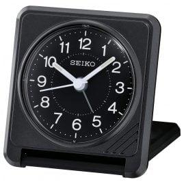 Seiko QHT015K Travel Alarm Clock Black