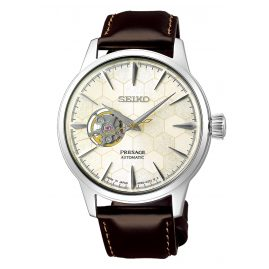 Seiko SSA409J1 Presage Men's Automatic Watch with additional Strap