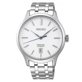 Seiko SRPD39J1 Presage Automatic Men's Watch with Steel Bracelet