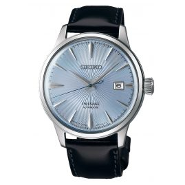 Seiko SRPB43J1 Presage Automatic Men's Watch silver / light blue