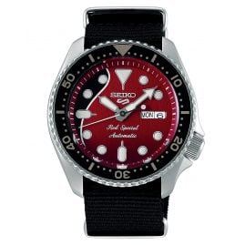 Seiko SRPE83K1 Men's Watch Red Special Automatic Brian May Limited Edition