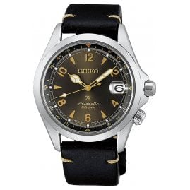 Seiko SPB209J1 Prospex Automatic Watch Alpinist Black/Gold Tone