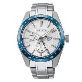 Seiko SPB223J1 Presage Herrenuhr Automatik Sharp Edged GMT Limited Edition 1
