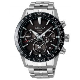 Seiko SSH003J1 Astron GPS Solar Men´s Wristwatch Dual Time