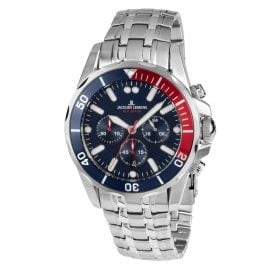 Jacques Lemans 1-1907ZF Mens Chronograph Liverpool Diver