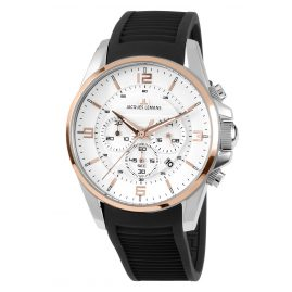 Jacques Lemans 1-1799D Herrenuhr Chronograph Liverpool Bicolor Ø 44 mm