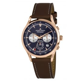 Jacques Lemans 1-2068G Men's Watch Chronograph Retro Classic