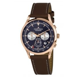 Jacques Lemans 1-2068G Herrenuhr Chronograph Retro Classic