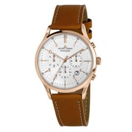 Jacques Lemans 1-2068R Men's Watch Chronograph Retro Classic