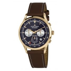 Jacques Lemans 1-2068K Men's Watch Chronograph Retro Classic