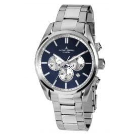 Jacques Lemans 42-6F Men's Wristwatch Chronograph Classic