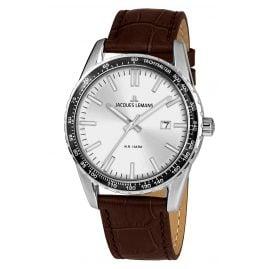 Jacques Lemans 1-2022B Men's Wristwatch Liverpool Silver-Grey Ø 44 mm