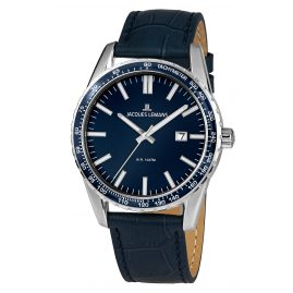 Jacques Lemans 1-2022D Men's Wristwatch Liverpool Blue Ø 44 mm