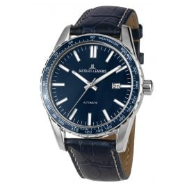 Jacques Lemans 1-2075C Gents Watch Automatic Liverpool Blue Ø 44 mm