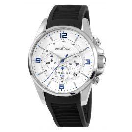 Jacques Lemans 1-1799B Men's Watch Chronograph Liverpool Ø 44 mm