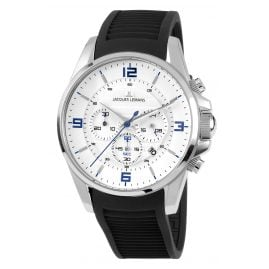 Jacques Lemans 1-1799B Herrenuhr Chronograph Liverpool Ø 44 mm