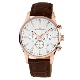 Jacques Lemans 1-2025E Herrenuhr Chronograph London roségoldfarben