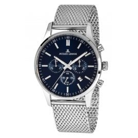 Jacques Lemans 1-2025H Herren-Chronograph London mit Milanaise-Armband