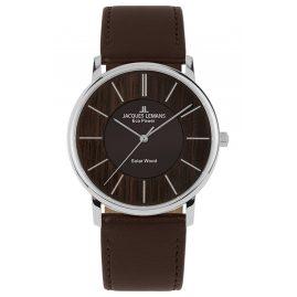 Jacques Lemans 1-2105A Eco-Power Unisex Wristwatch Solar Dark Brown