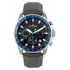 Jacques Lemans 1-2099B Herrenuhr Chronograph Liverpool Blau