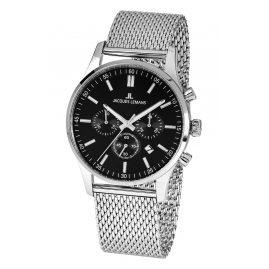 Jacques Lemans 1-2025.1F Herren-Chronograph London mit Milanaise-Armband