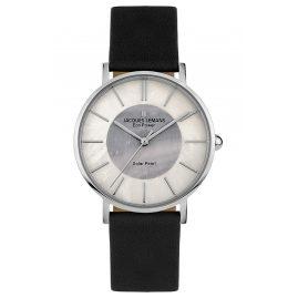 Jacques Lemans 1-2112A Eco-Power Women's Wristwatch Solar Black