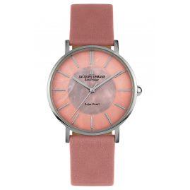 Jacques Lemans 1-2112C Eco-Power Ladies' Watch Solar Antique Pink