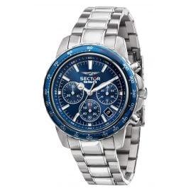 Sector R3273993003 Herrenuhr Chronograph 550 Vintage Blau