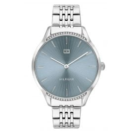 Tommy Hilfiger 1782210 Ladies' Wristwatch Gray Blue