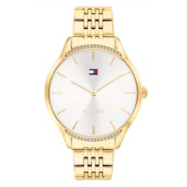Tommy Hilfiger 1782211 Ladies' Watch Gray Gold Tone