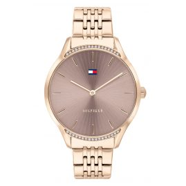 Tommy Hilfiger 1782212 Women's Watch Gray Rose Gold Tone