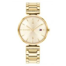 Tommy Hilfiger 1782272 Women's Wristwatch Aria Gold Tone
