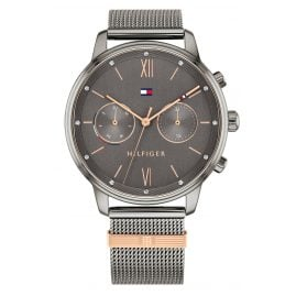 Tommy Hilfiger 1782304 Ladies' Watch Multifunction Blake Anthracite / Rose Gold Tone
